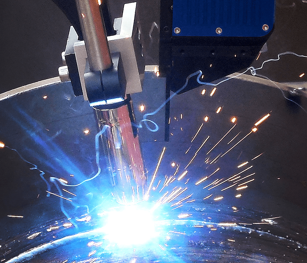 Joint tracking systems for MIG/MAG Welding Robots - EDR torches